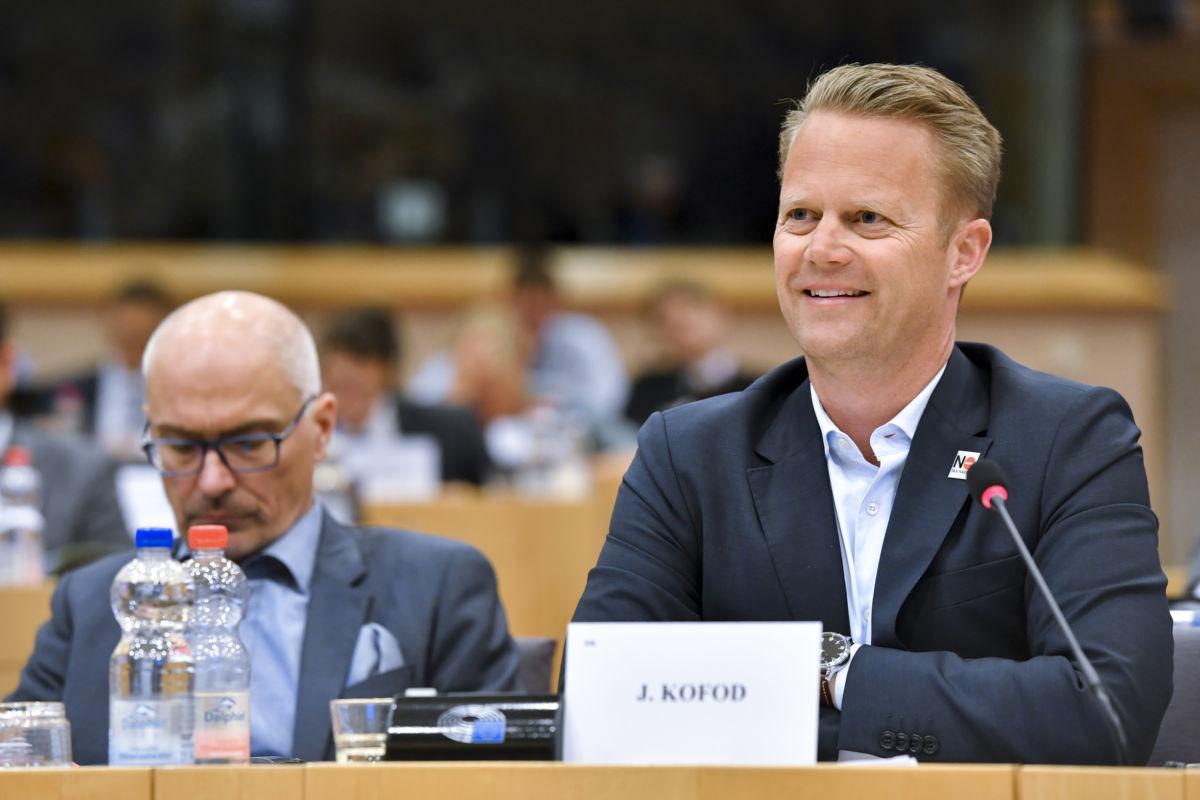 Jeppe Kofod, Dánia külügyminisztere.