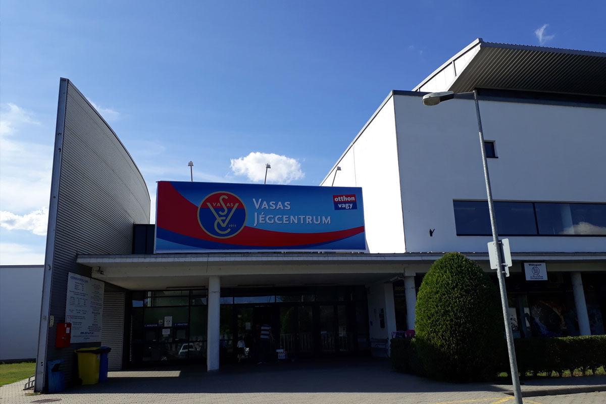 A Vasas Jégcentrum.