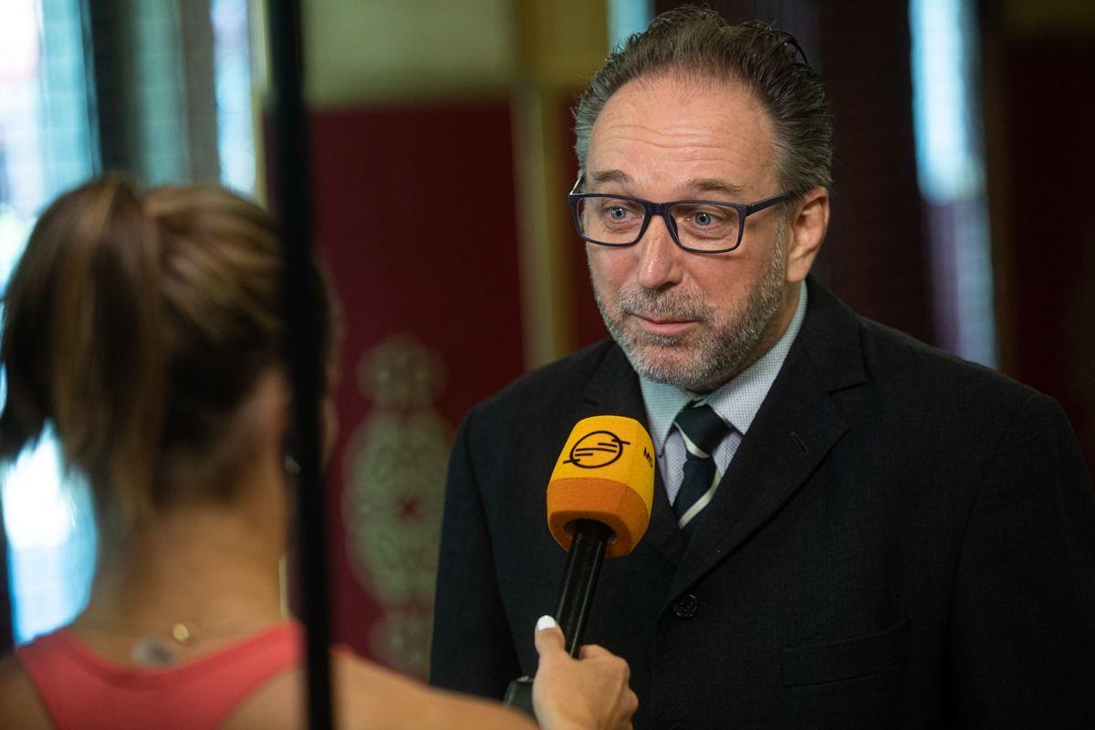 Fekete Péter, az Emberi Erőforrások Minisztériumának kultúráért felelős államtitkára.