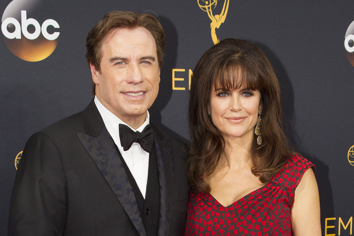 John Travolta és Kelly Preston.