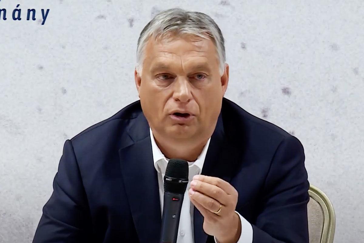 """Orbán Viktor: """"haptákban nem lehet futballozni"""""""