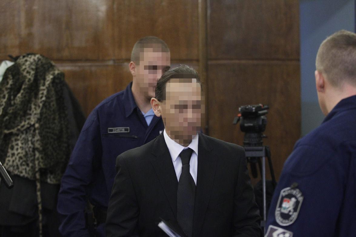 Vizoviczki László az ellene és 32 társa ellen vendéglátó-ipari tevékenységgel összefüggésben elkövetett költségvetési csalás vádja miatt indult büntetőper tárgyalásán, a Fővárosi Törvényszéken 2014. november 19-én.