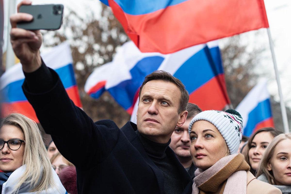 Alekszej Navalnij.