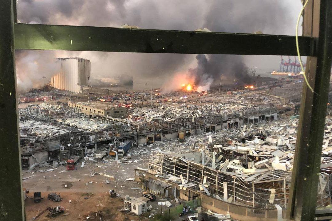 Egy helyszínen élő magyar látta a bejrúti robbanást