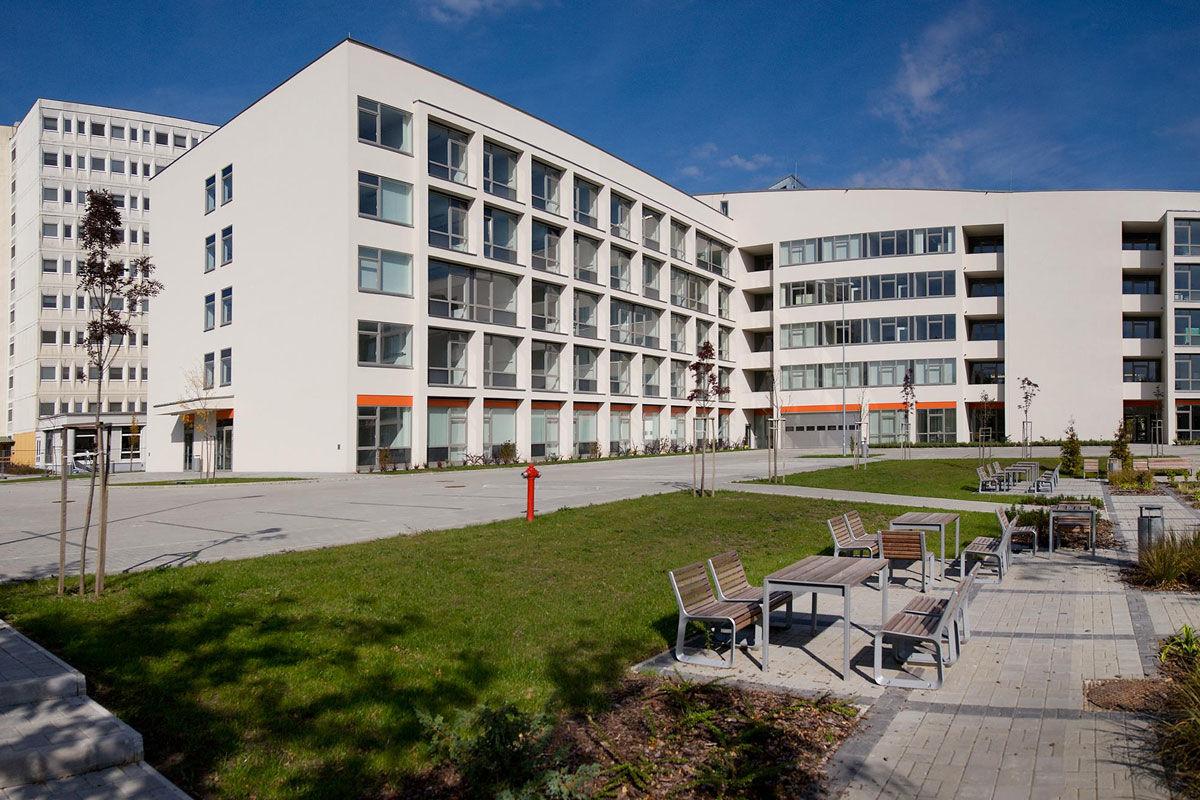 A Bács-Kiskun Megyei Kórház épülete.
