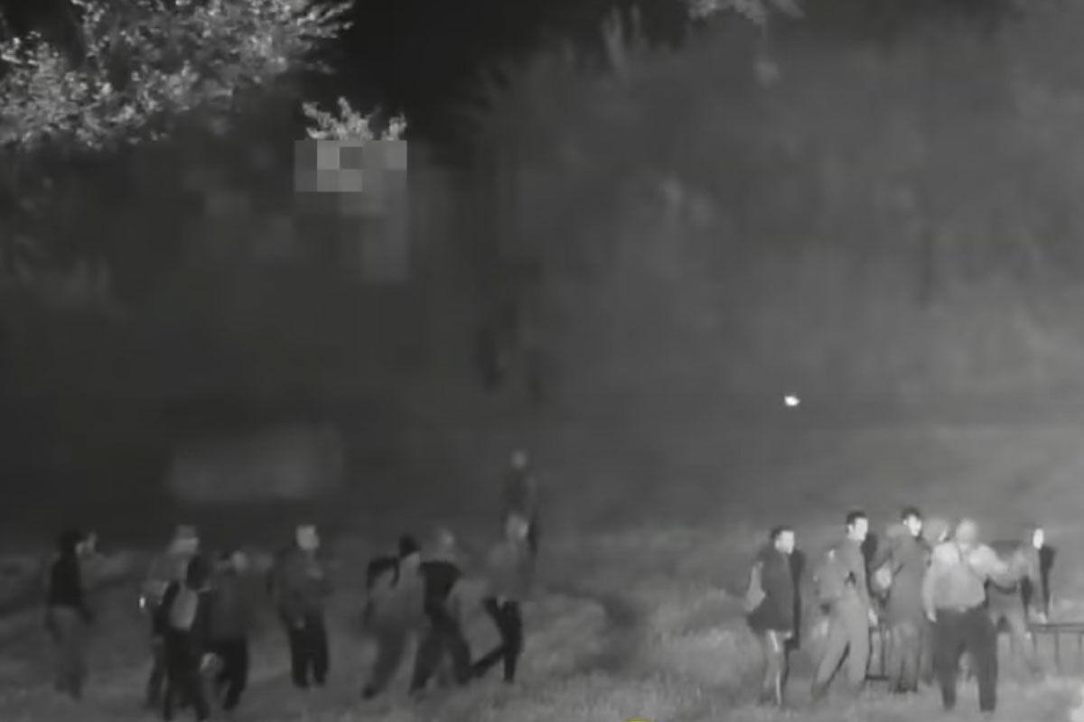 Közel száz migráns próbált meg átjutni a határon Röszkénél
