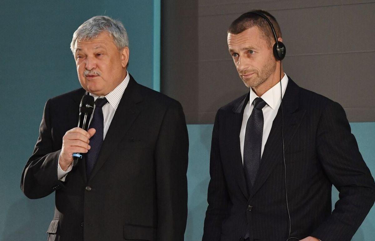 Csányi Sándor és Aleksander Čeferin.