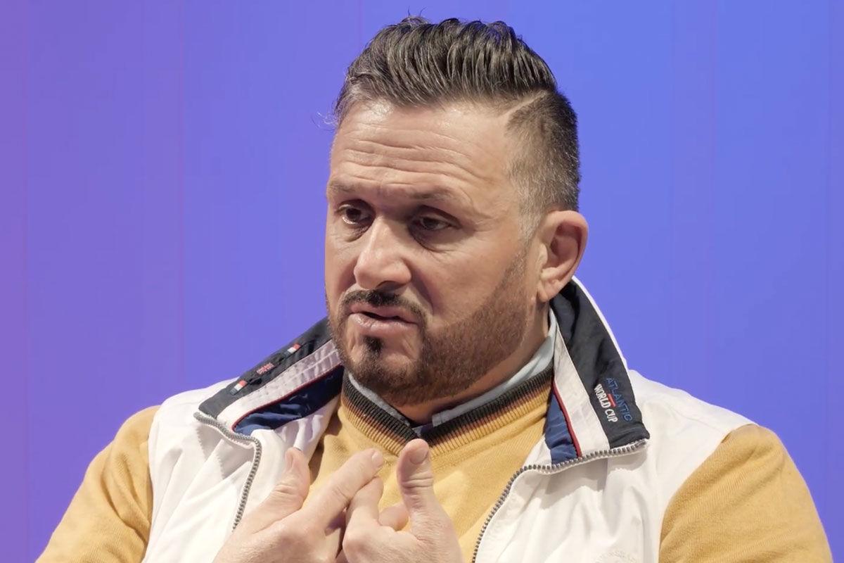 Lagzi Lajcsi a PartizánPOP műsorában 2020. novemberében.