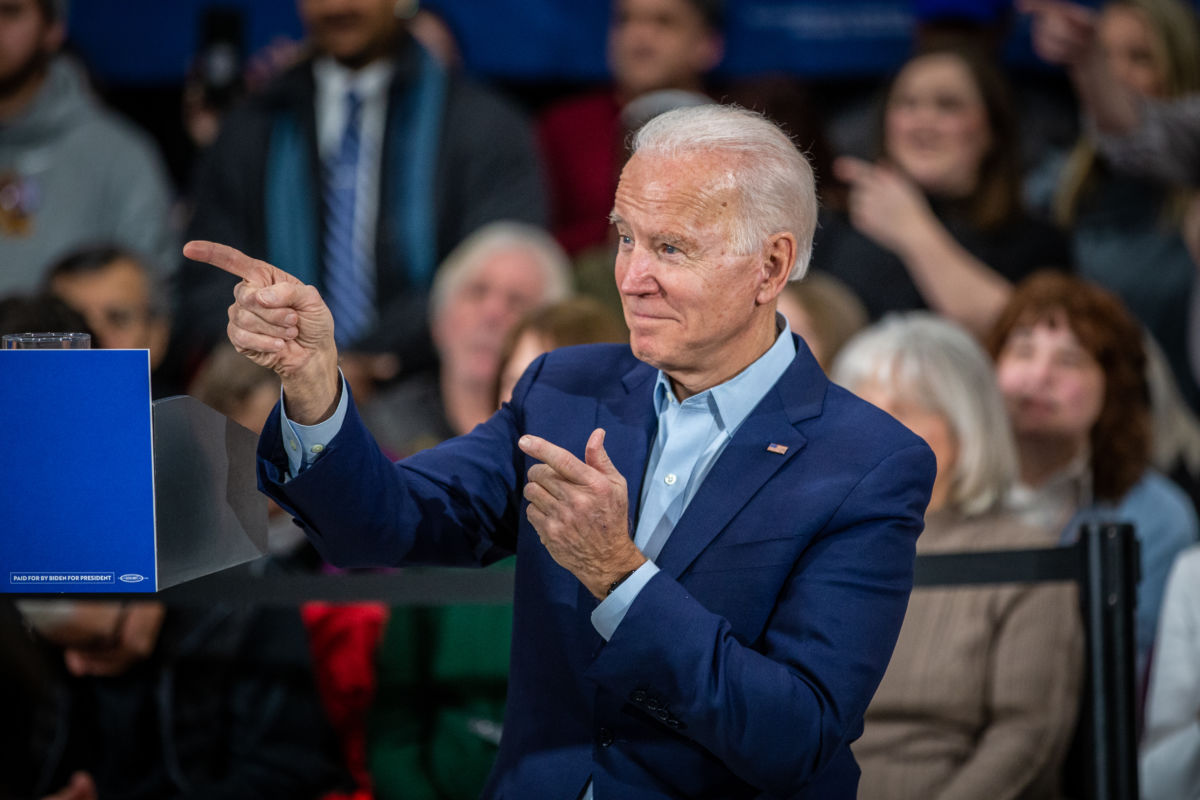 Joe Biden, az Amerikai Egyesült Államok 46. elnöke.