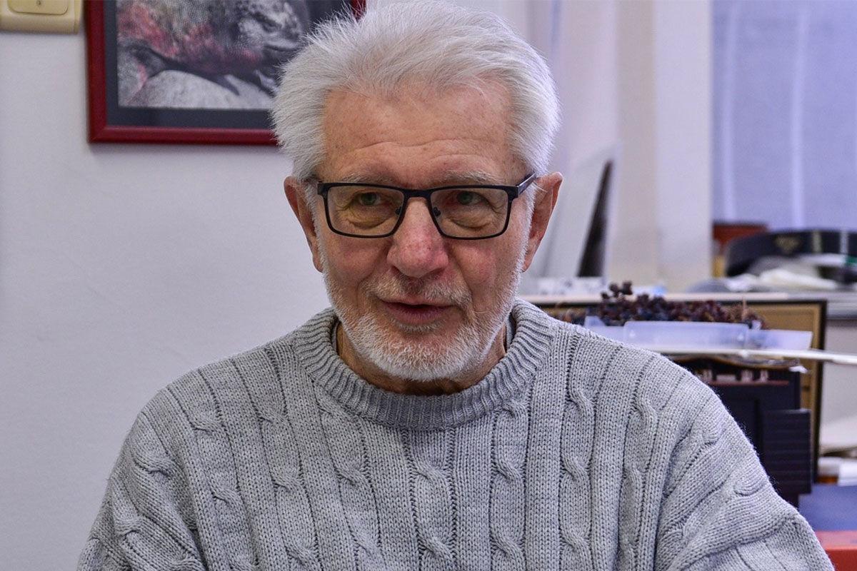 Prof. dr. Duda Ernő virológus, immunológus.