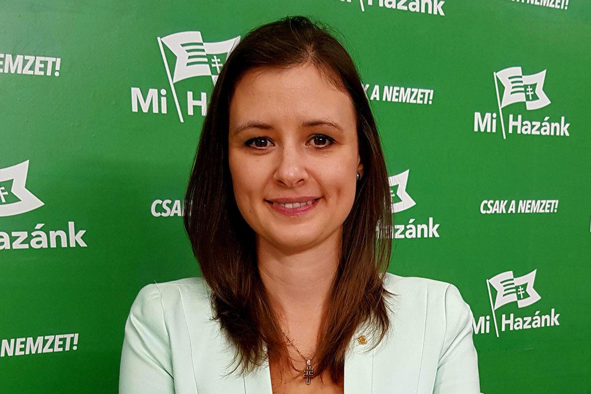 Dúró Dóra nemzeti radikális politikus, a Mi Hazánk Mozgalom elnökhelyettese.