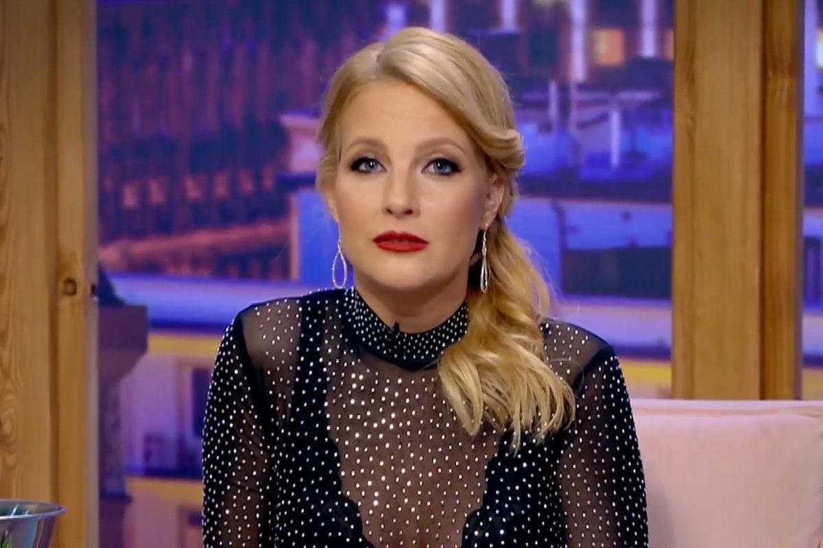Várkonyi Andrea műsorvezető, riporter.