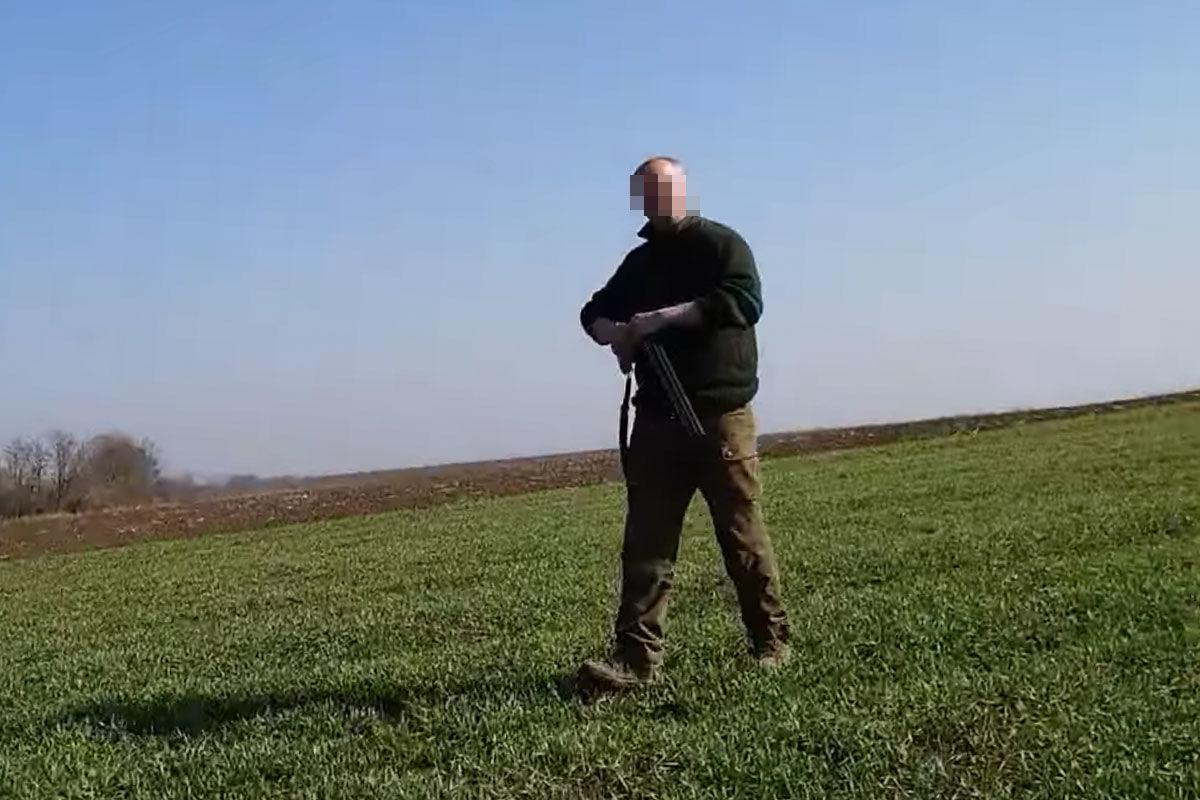 Az őrjöngő vadász (részlet a videóból).
