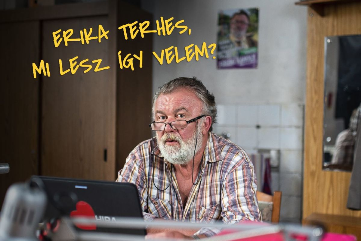 Csuja Imre Jászai Mari-díjas színművész A mi is falunk-beli Pajkaszeg polgármestereként.