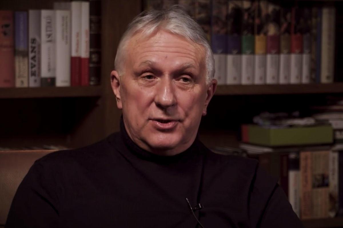 Bige László vállalkozó a Partizán műsorában.