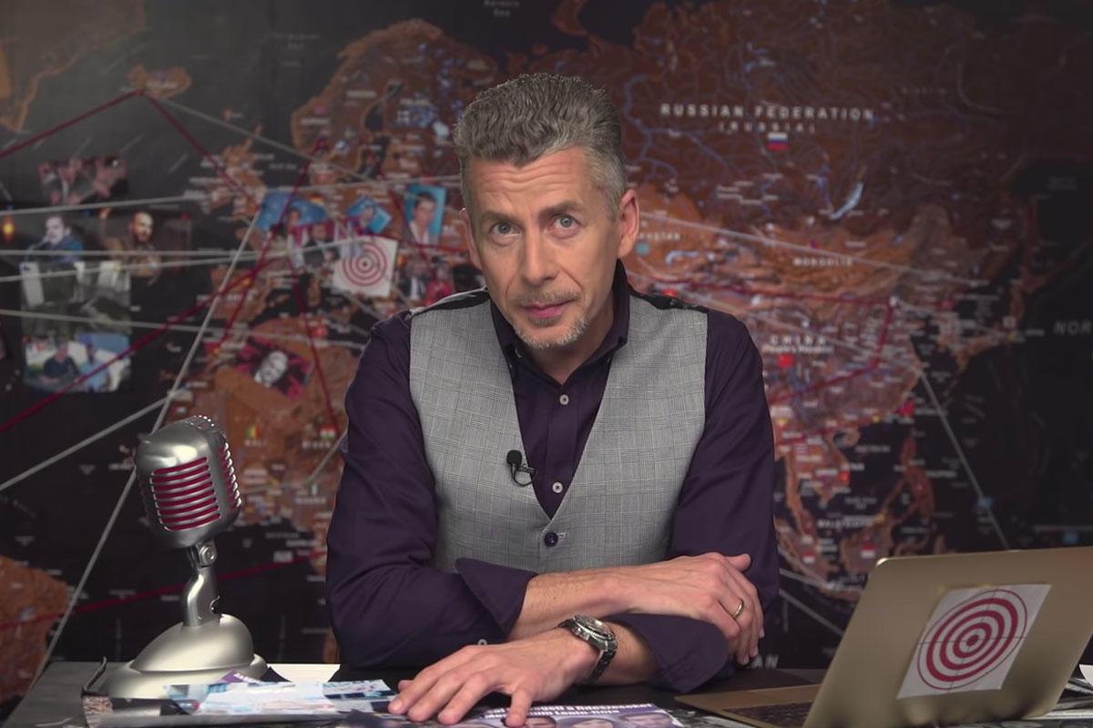 Rákay Philip, a Patrióta című fideszista Youtube-csatorna műsorvezetője.