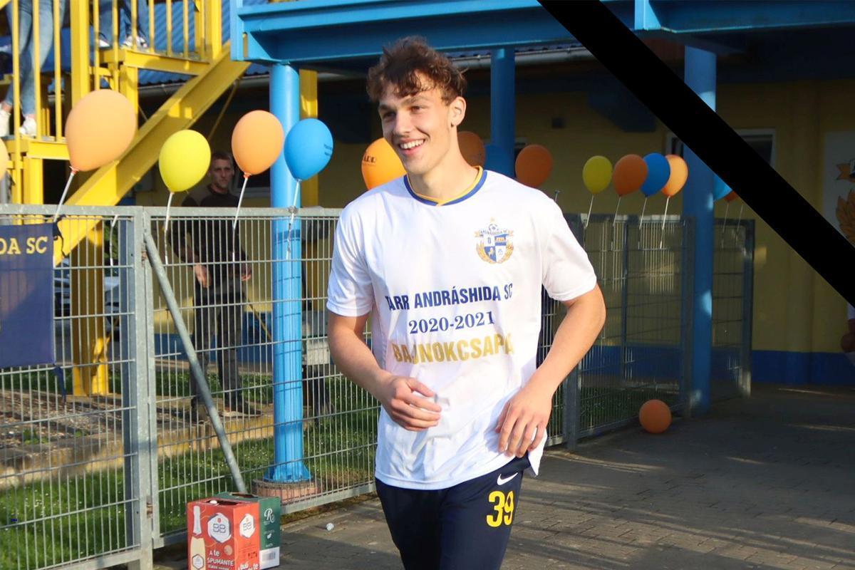 Edzés közben összeesett és meghalt egy 18 éves magyar focista