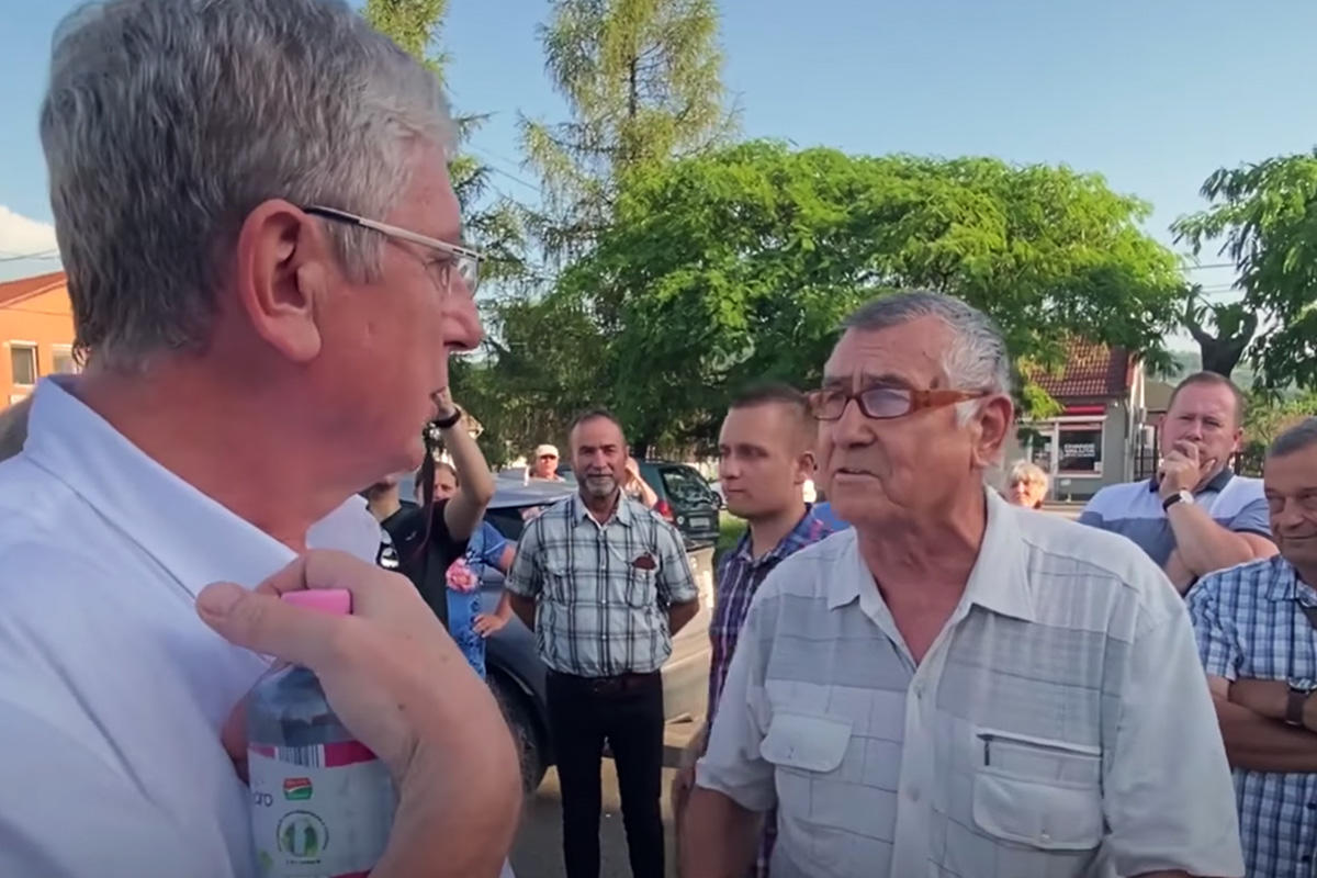 Gyurcsány megkérdezett egy bekiabálót, mi volt a baja a kormányzásával, erre a válaszra nem számított
