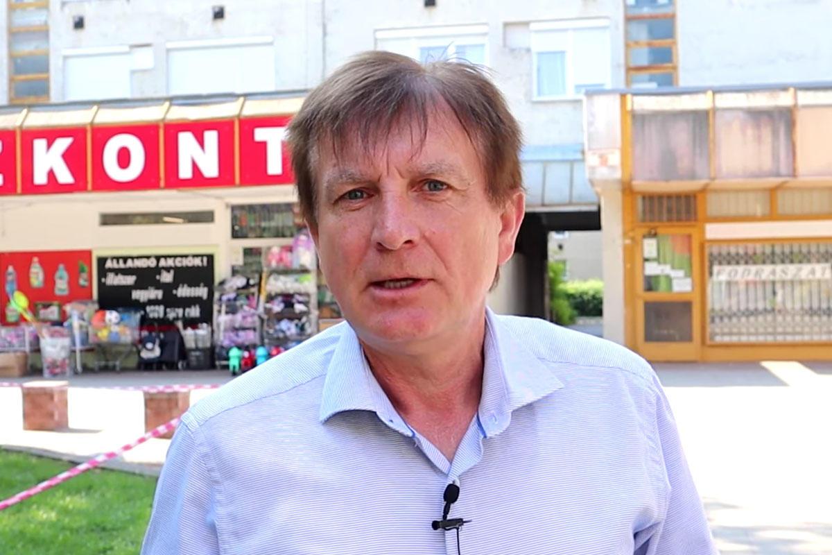Nemes Gábor, a DK XVI. kerületi képviselője.