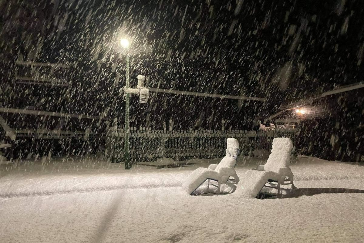 Havazott a Bükkben, Bánkúton 20-22 centiméter a hó vastagsága